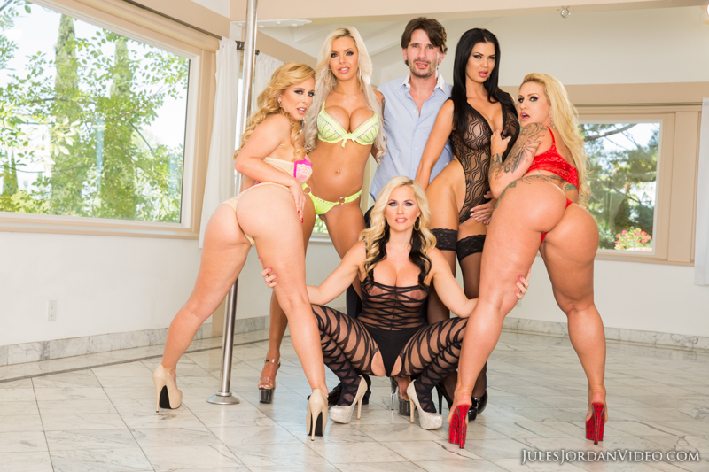 Alena croft and ashley fires rule over him 3