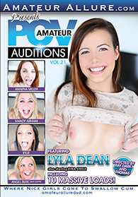 Amateur POV Auditions 21 Boxcover