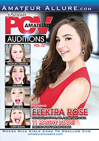 Amateur POV Auditions 22 Boxcover
