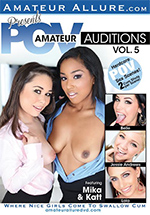 Amateur POV Auditions 5 Boxcover