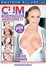 Cum Swallowing Auditions 11 Boxcover