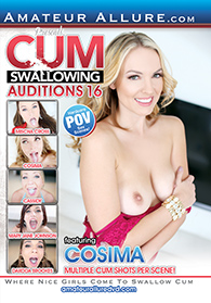 Cum Swallowing Auditions 16 Boxcover