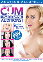 Cum Swallowing Auditions 2 Boxcover