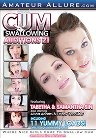 Cum Swallowing Auditions 21 Boxcover