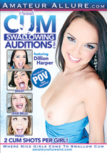 Cum Swallowing Auditions 3 Boxcover