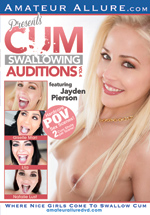 Cum Swallowing Auditions 4 Boxcover