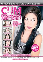 Cum Swallowing Auditions 7 Boxcover