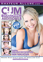 Cum Swallowing Auditions 8 Boxcover