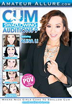 Cum Swallowing Auditions 9 Boxcover