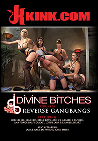 Divine Bitches 24 Reverse Gangbangs Boxcover