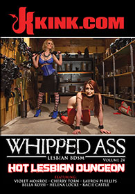 Whipped Ass Vol 24 Hot Lesbian Dungeon Boxcover